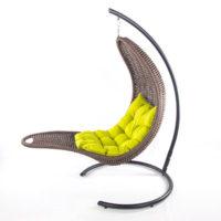 Подвесное кресло-шезлонг RECLINER (коричневый)